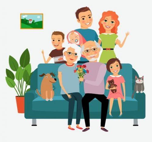 Información del sistema familiar. Padres.